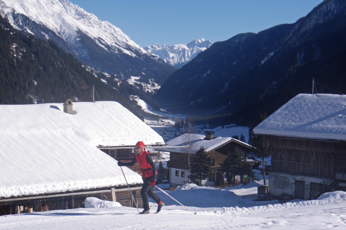 Langlaufsafari Hochpustertal und Osttirol - Im Defereggental bei Freistitz