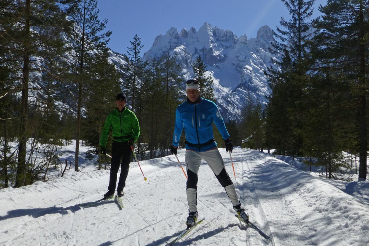 Langlaufsafari Hochpustertal und Osttirol - Monte Cristallo