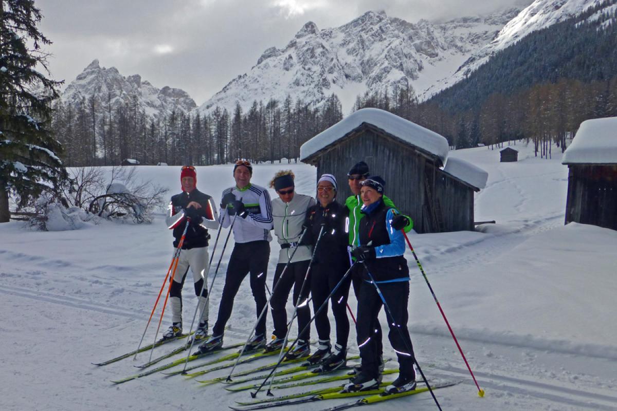 Langlaufsafari Hochpustertal und Osttirol - Gruppenfoto