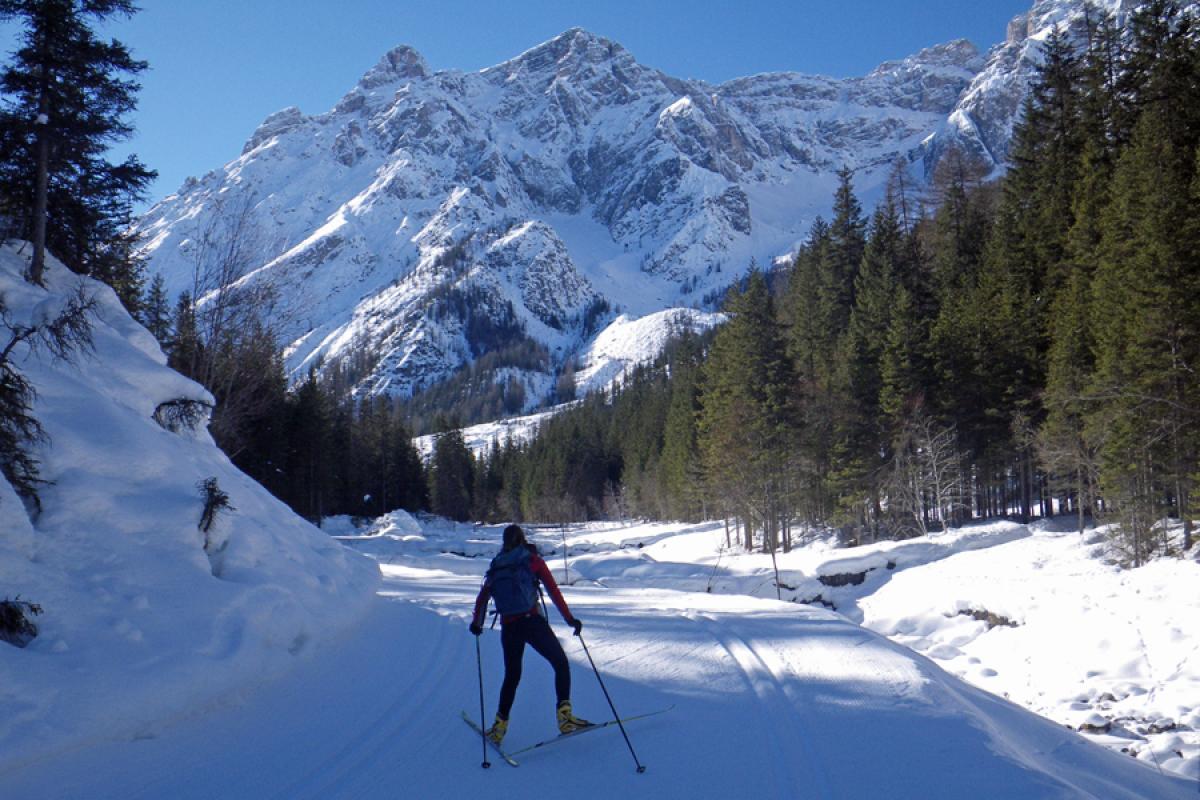 Langlaufsafari Hochpustertal und Osttirol - Im Sextener Tal