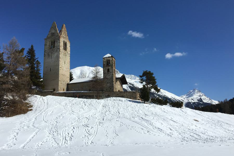 Langlaufsafari Engadin – Pontresina – St. Moritz – Schweiz