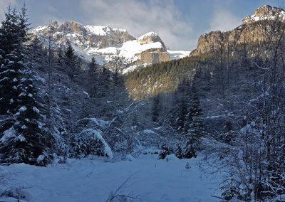 Langlaufsafari Dolomiten – Seiser Alm + Rosengarten