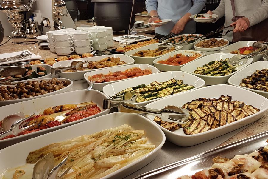 Abendliches Buffet