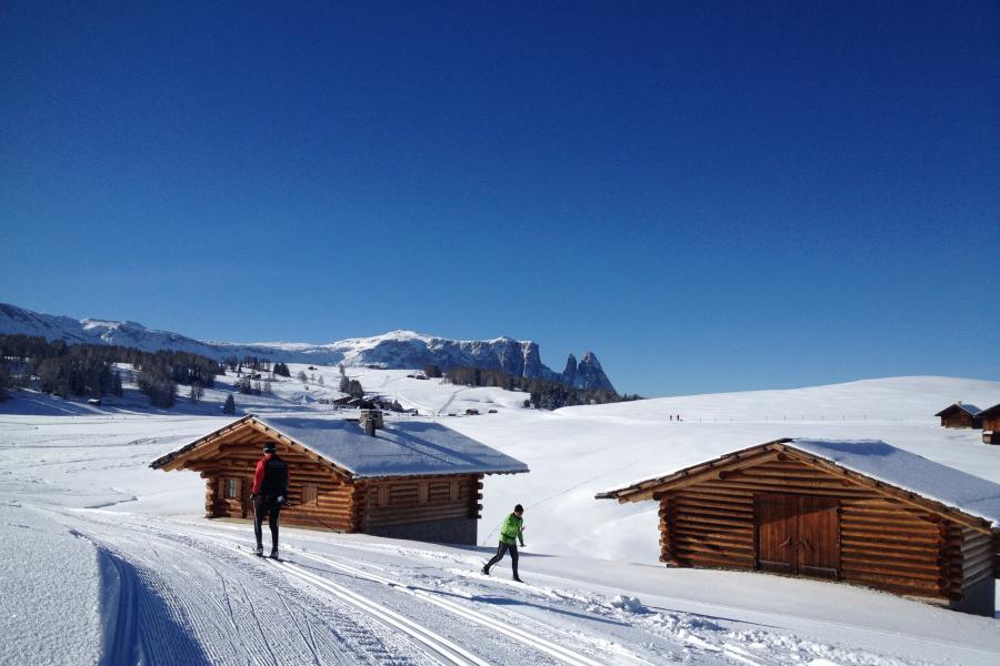 Seiser Alm Hütten in Südtirol